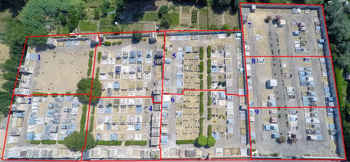Logiciel cimetière mairie d'Ornaisons : 4400€ h.t.