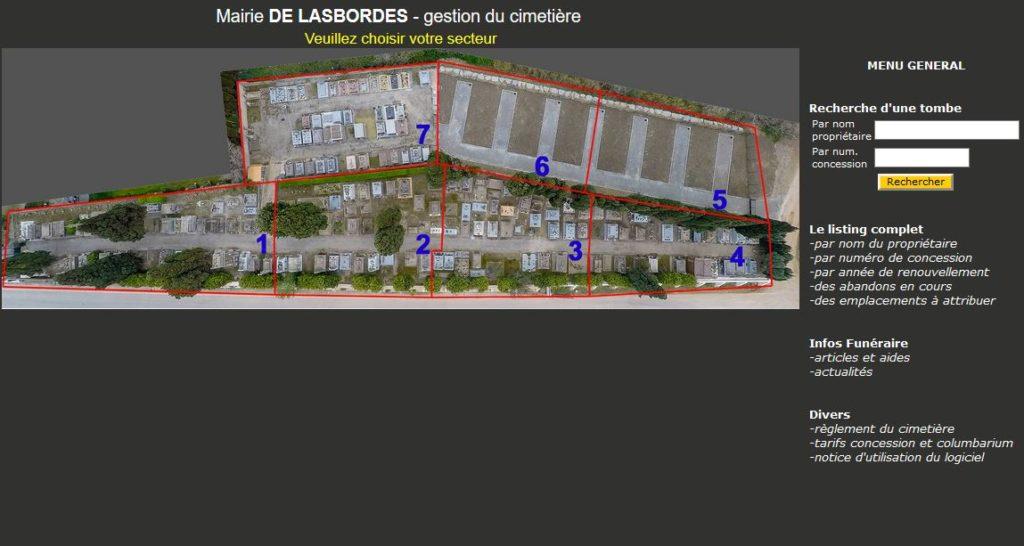 Gestion cimetière dans l'Aude