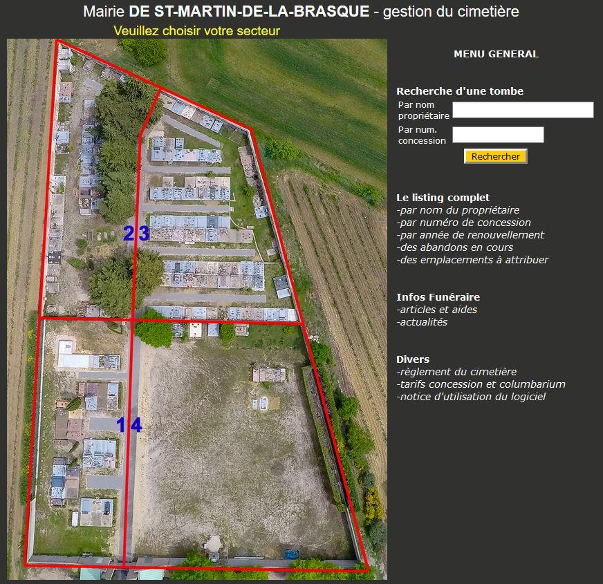 Gestion cimetière dans le Vaucluse