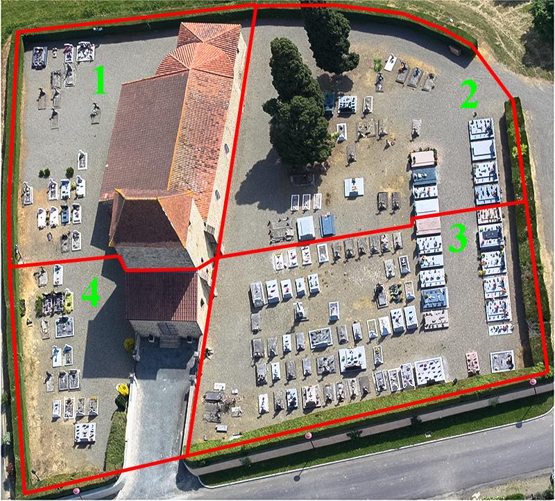 Logiciel cimetière 200 emplacements : 1500€ h.t.