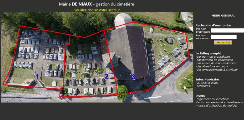 Gestion cimetière Ariège