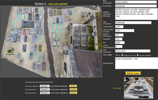 La photo par Drone est le coeur de ce logiciel