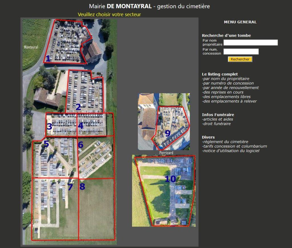 Logiciel gestion cimetière dans departement Lot-et-Garonne