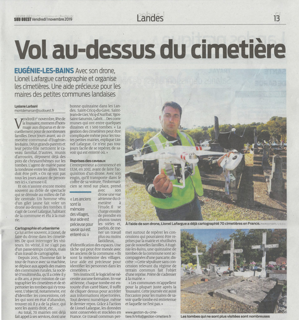 Article journal le Sud-Ouest