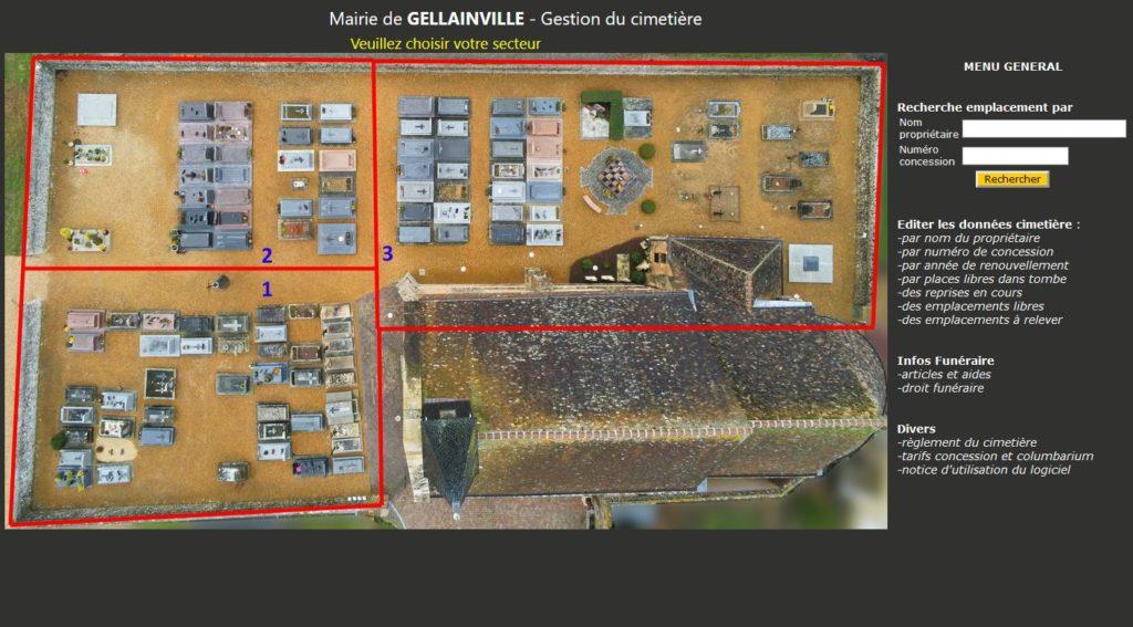 Gestion informatique des cimetieres et Columbariums dans l'Eure-et-Loire
